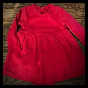 New!! Red Primary onesie dress!